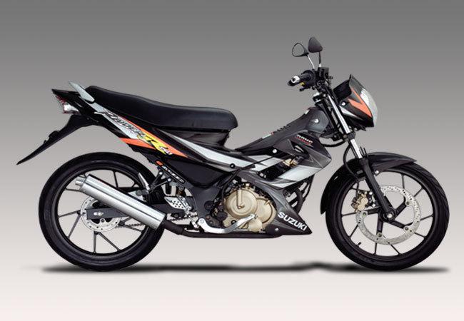 Tipe Contoh Modif produk Sepeda motor Suzuki Keluaran Terbaru 2012