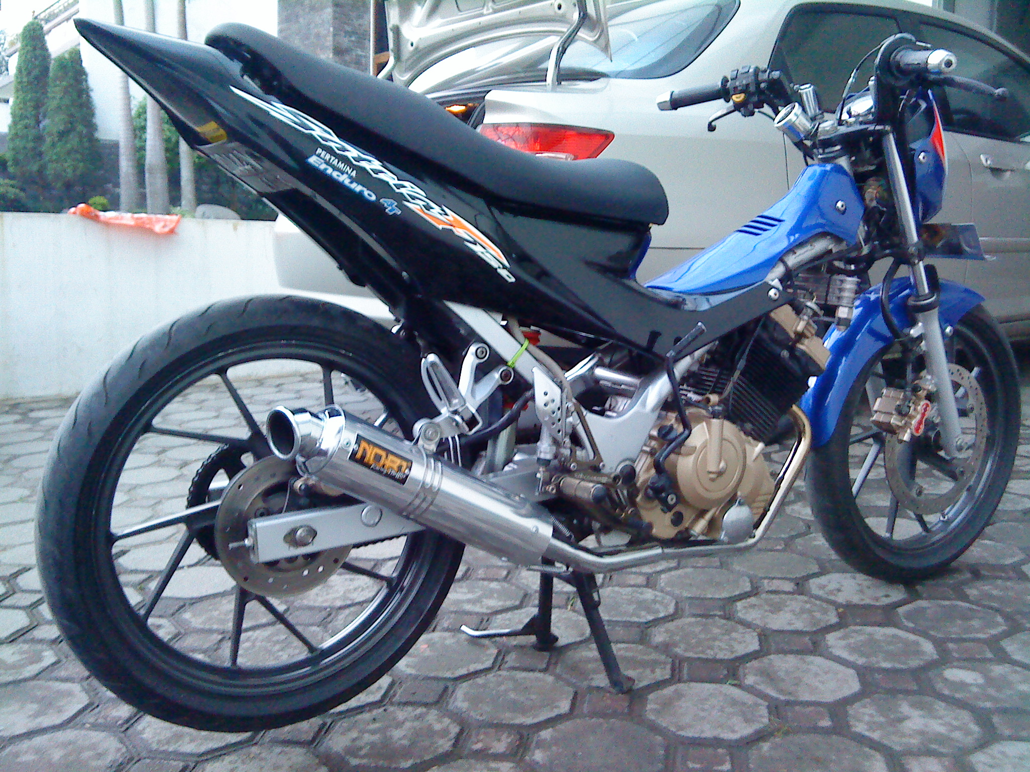 modifications Suzuki Satria fu